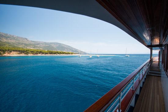 MS Aquamarin Deck