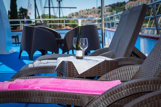 MS Splendid Sun Deck