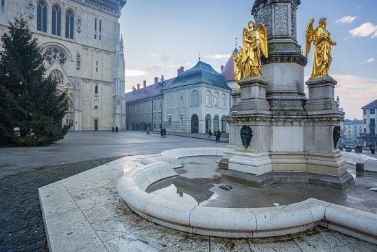 Zagreb - Holy Mary Monument