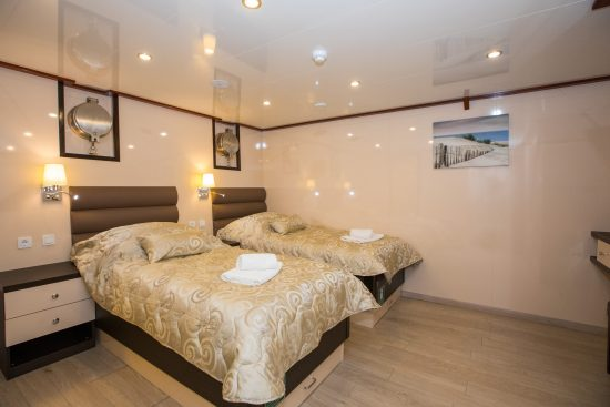 MS Adriatic Princess - Twin Cabin