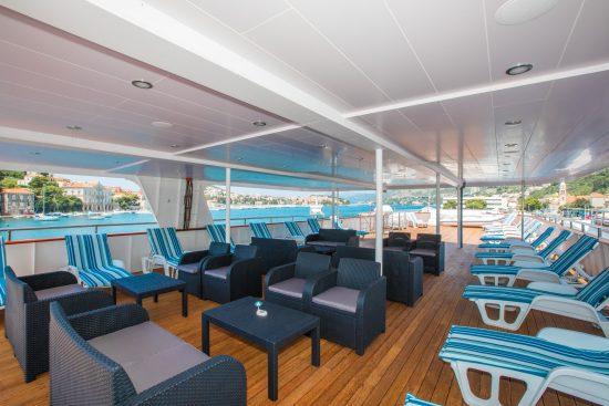MS Adriatic Princess - Deck