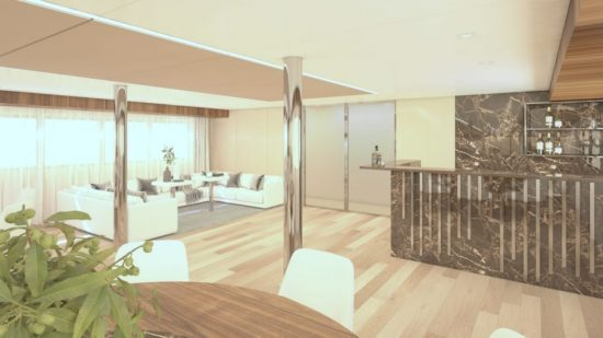 MS Adriatic Sky - Lounge Area (Artist Impression)